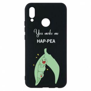 Etui na Huawei P20 Lite You make me hap-pea