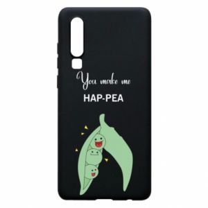 Etui na Huawei P30 You make me hap-pea