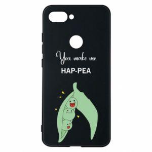 Etui na Xiaomi Mi8 Lite You make me hap-pea