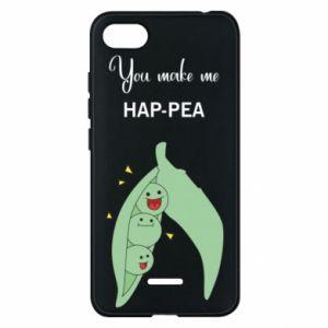 Etui na Xiaomi Redmi 6A You make me hap-pea