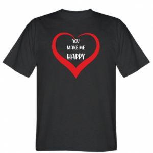Koszulka You make my happy