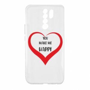 Etui na Xiaomi Redmi 9 You make my happy