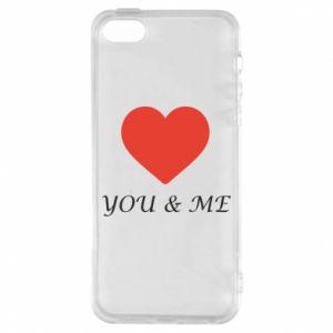 Etui na iPhone 5/5S/SE You & me