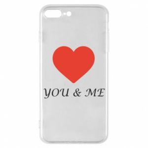 Etui do iPhone 7 Plus You & me