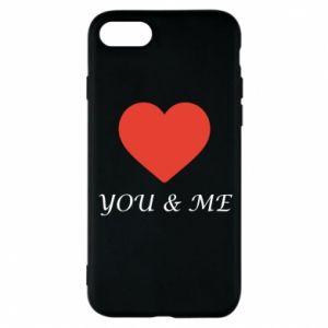Etui na iPhone 8 You & me
