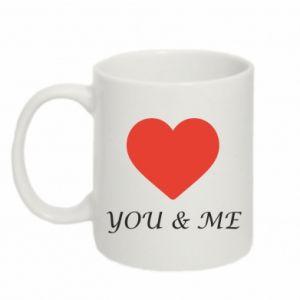 Mug 330ml You & me