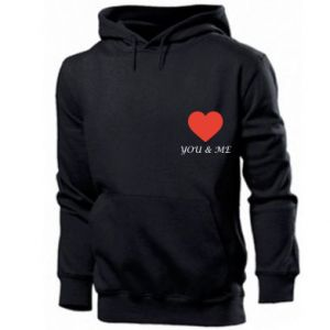 Bluza z kapturem męska You & me