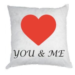 Poduszka You & me