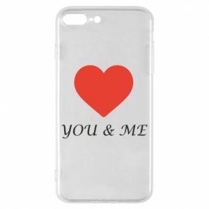 Etui na iPhone 8 Plus You & me