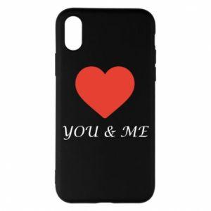 Etui na iPhone X/Xs You & me