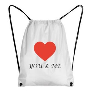 Plecak-worek You & me