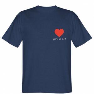 Koszulka męska You & me