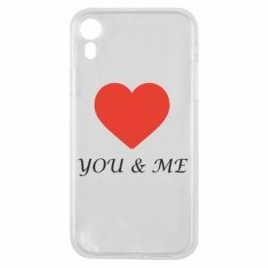 Etui na iPhone XR You & me