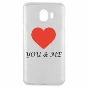Etui na Samsung J4 You & me