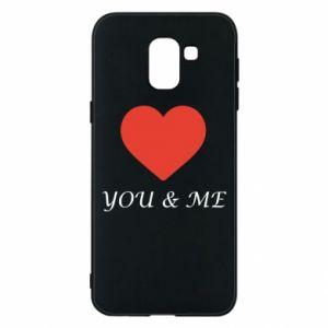Etui na Samsung J6 You & me