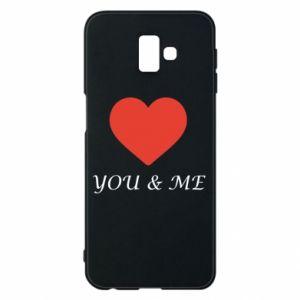 Etui na Samsung J6 Plus 2018 You & me