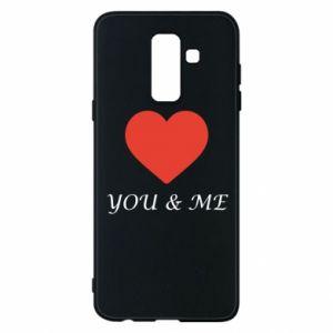 Etui na Samsung A6+ 2018 You & me