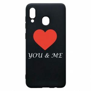 Etui na Samsung A20 You & me