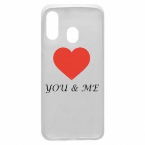 Etui na Samsung A40 You & me