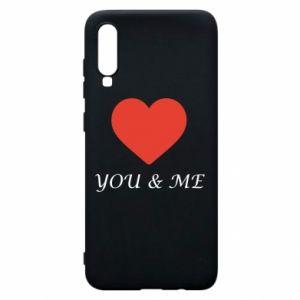 Etui na Samsung A70 You & me