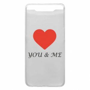 Etui na Samsung A80 You & me