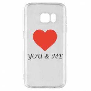 Etui na Samsung S7 You & me