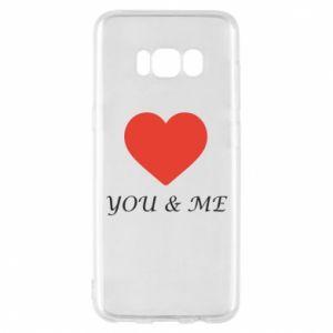 Etui na Samsung S8 You & me