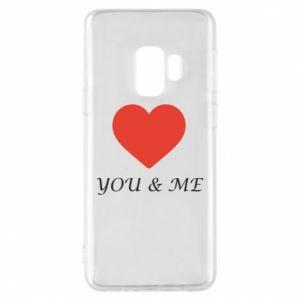 Etui na Samsung S9 You & me