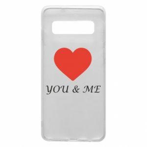 Etui na Samsung S10 You & me