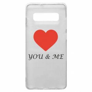 Etui na Samsung S10+ You & me