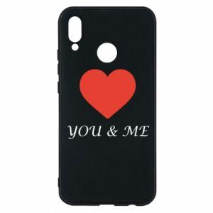 Etui na Huawei P20 Lite You & me