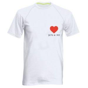 Koszulka sportowa męska You & me