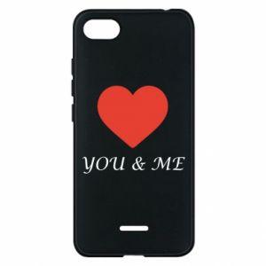Etui na Xiaomi Redmi 6A You & me