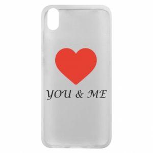 Etui na Xiaomi Redmi 7A You & me