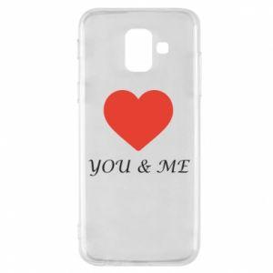 Etui na Samsung A6 2018 You & me