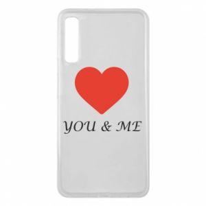 Etui na Samsung A7 2018 You & me