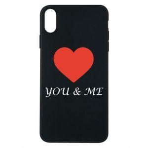 Etui na iPhone Xs Max You & me