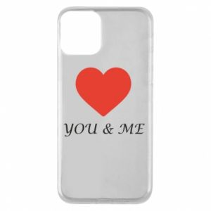 Etui na iPhone 11 You & me