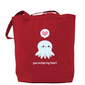 Torba You octopi my heart