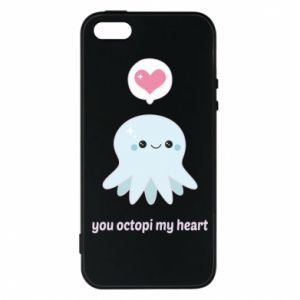Etui na iPhone 5/5S/SE You octopi my heart