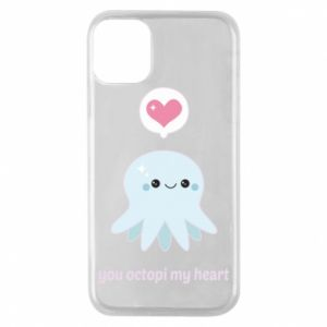 Etui na iPhone 11 Pro You octopi my heart