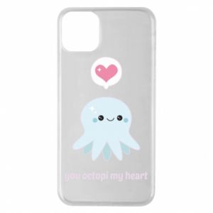 Etui na iPhone 11 Pro Max You octopi my heart