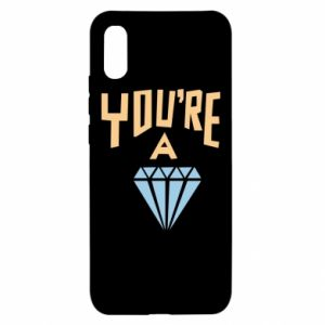 Etui na Xiaomi Redmi 9a You're a diamond