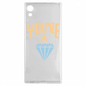 Etui na Sony Xperia XA1 You're a diamond