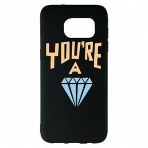 Etui na Samsung S7 EDGE You're a diamond