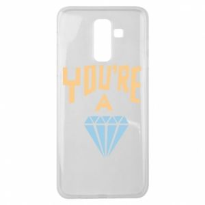 Etui na Samsung J8 2018 You're a diamond