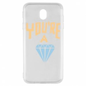 Etui na Samsung J7 2017 You're a diamond