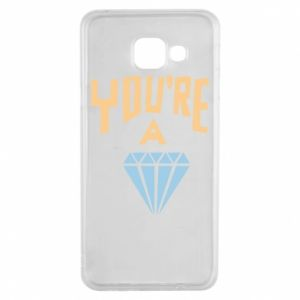 Etui na Samsung A3 2016 You're a diamond
