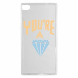Etui na Huawei P8 You're a diamond