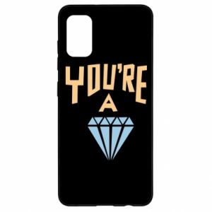Etui na Samsung A41 You're a diamond